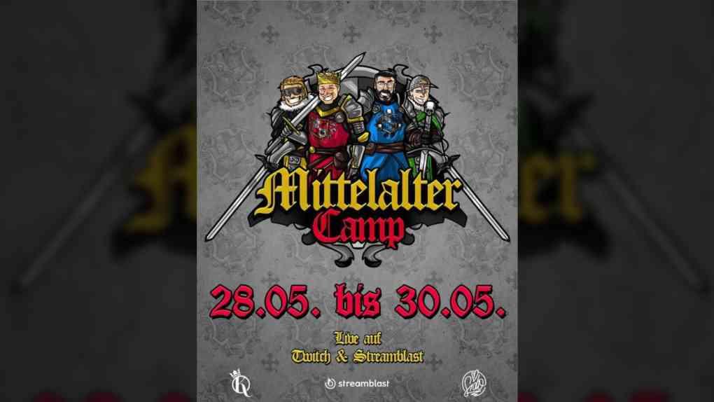 Announcement Grafik MittelalterCamp 2021