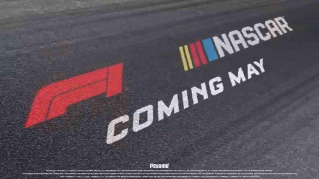 NASCAR F1 Rocket League Crossover
