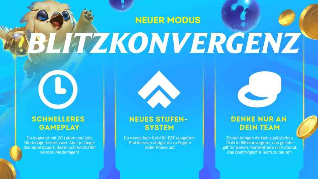 TFT Blitzkonvergenz Regeln Fokus