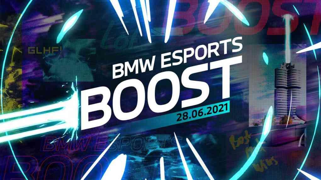 bmw esports boost 2021