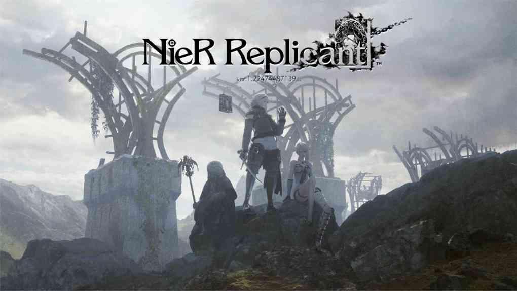 nier replicant cover