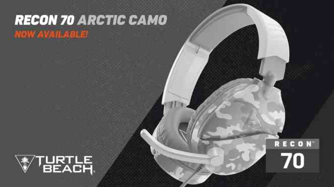 turtle beach camo polarweiss arctic