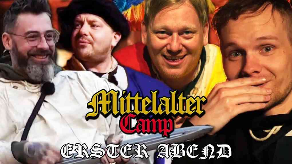 Mittelaltercamp mit Knossi Sido Tag 1 Highlights