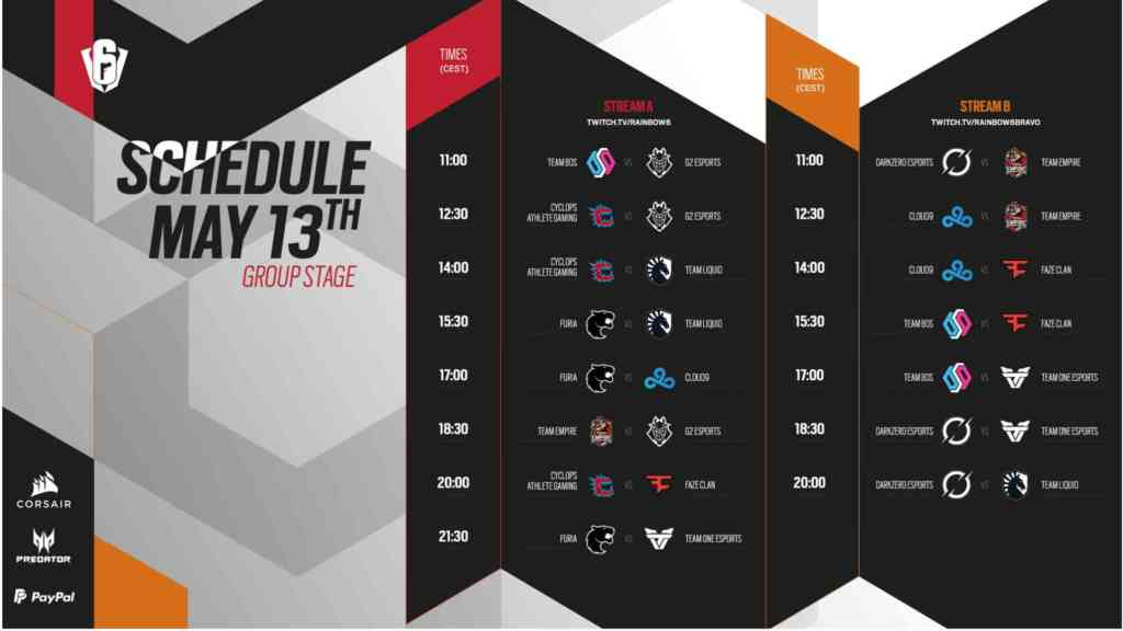 Zeitplan SI2021 13. Mai