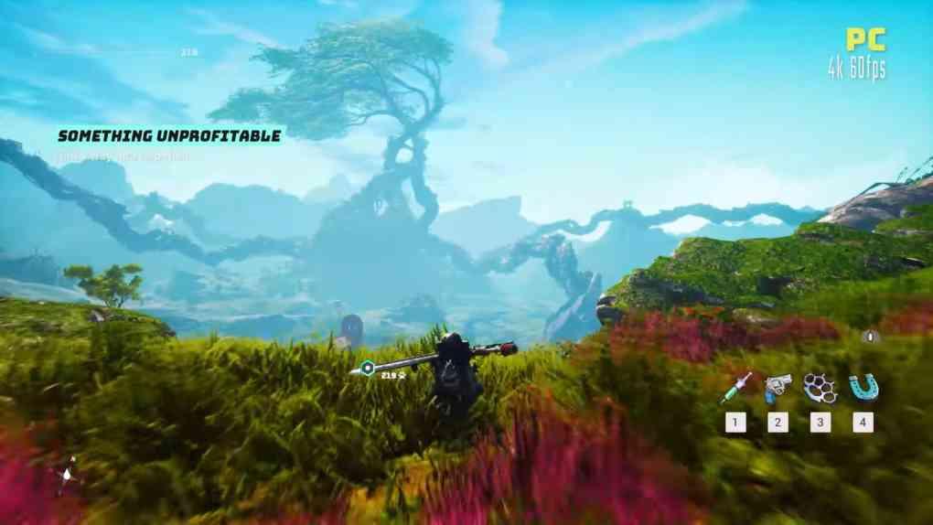 biomutant pc gameplay
