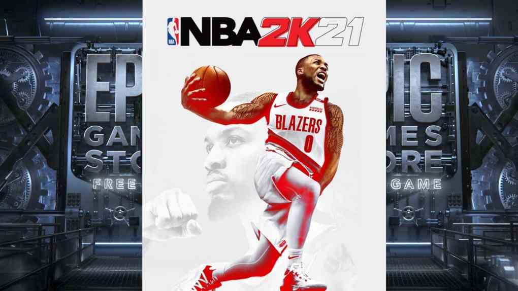 epic games free game nba 2k21 cover