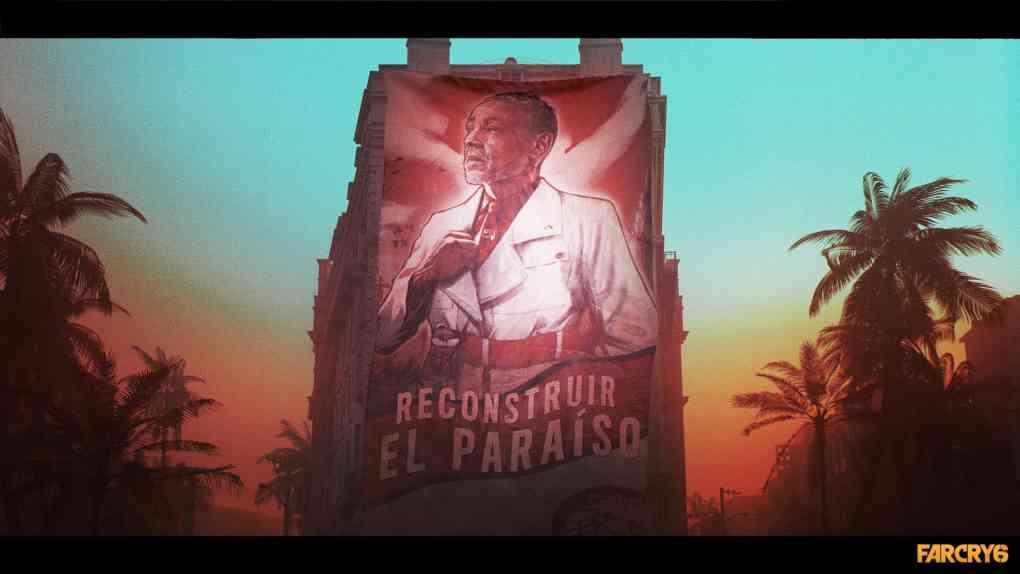 far cry 6 banner presidente