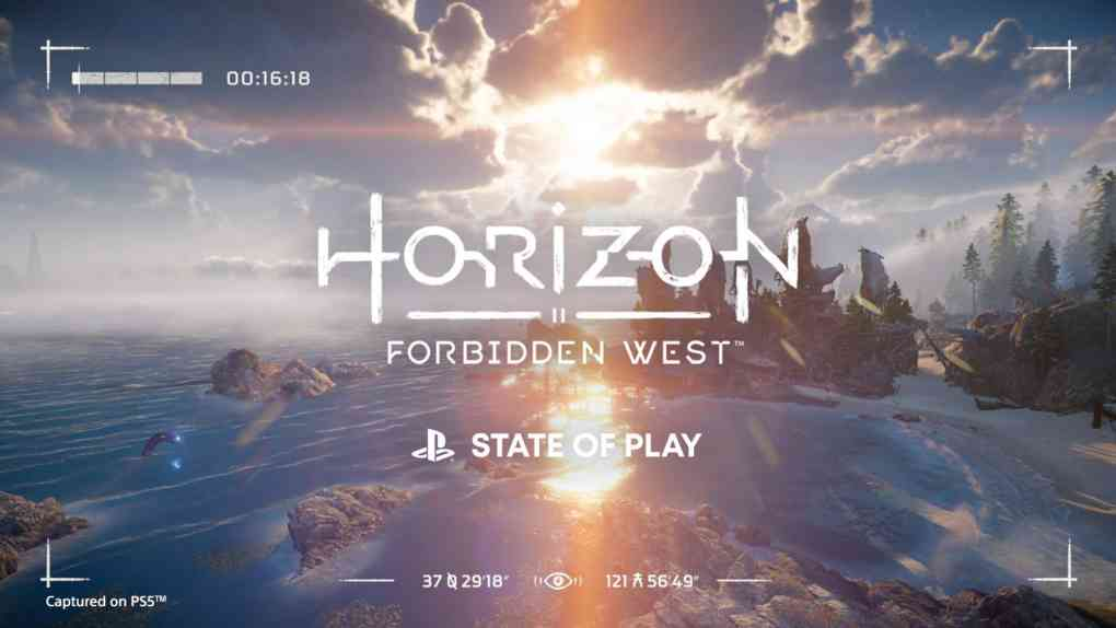 horizon forbidden west gameplay reveal