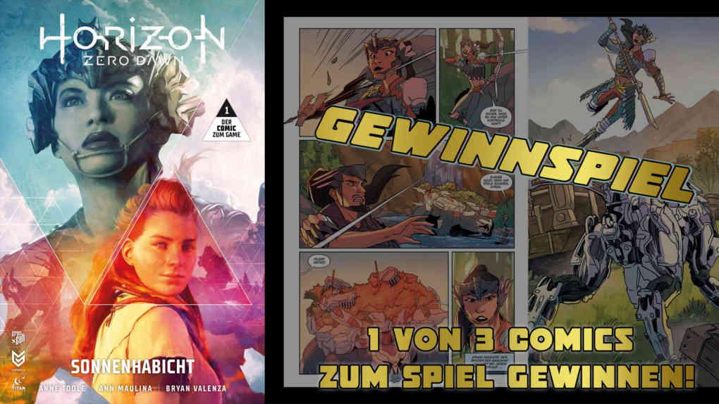 horizon zero dawn comics gewinnspiel header