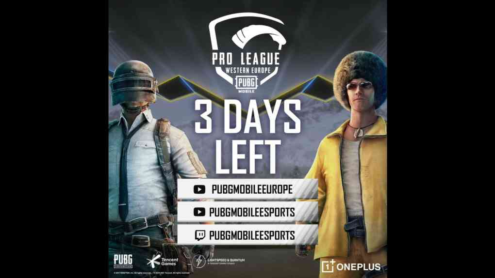 pubg mobile western europe pro league