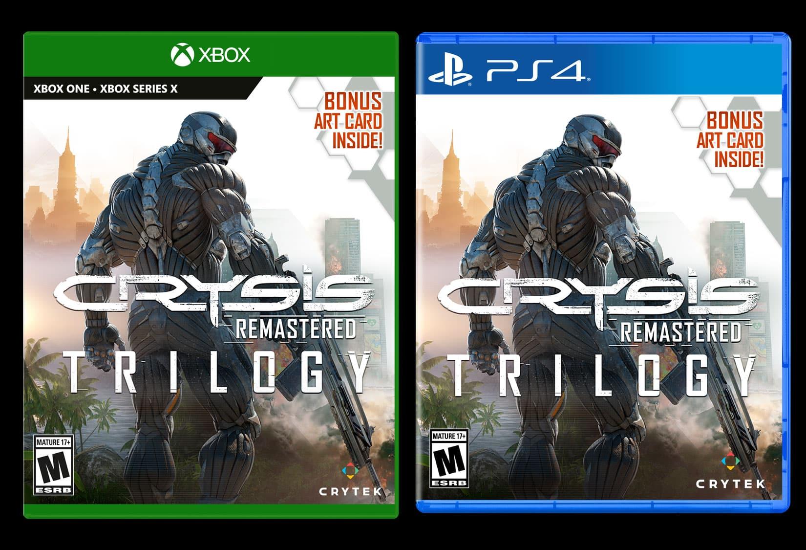 Ein erster Blick auf die Crysis Trilogie Konsolen Edition. Quelle: Crytek