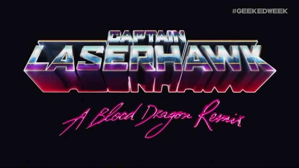 Captain Laserhawk A Blood Dragon remix Trailer NETFLIX Geekedweek