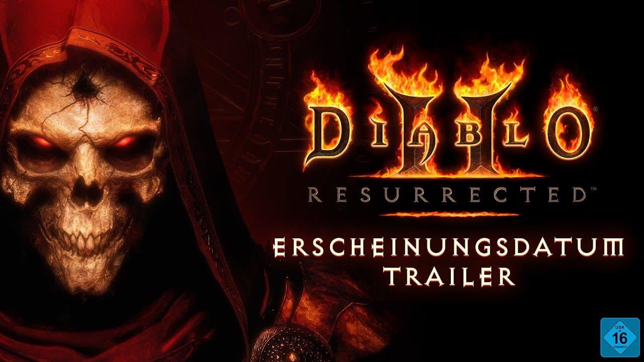 Diablo® II Resurrected™ – Trailer zum Veroeffentlichungsdatum