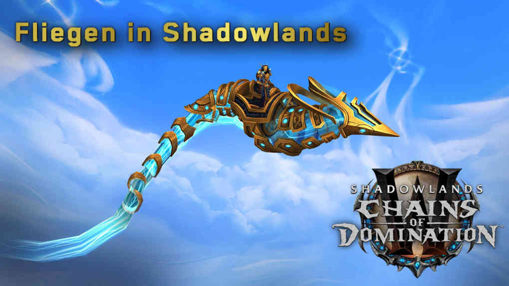 Fliegen in Shadowlands