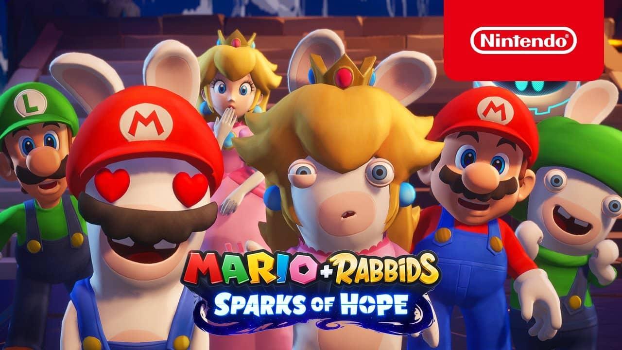 Mario Rabbids Sparks Of Hope – Gameplay Sneak Peek Trailer Nintendo Switch