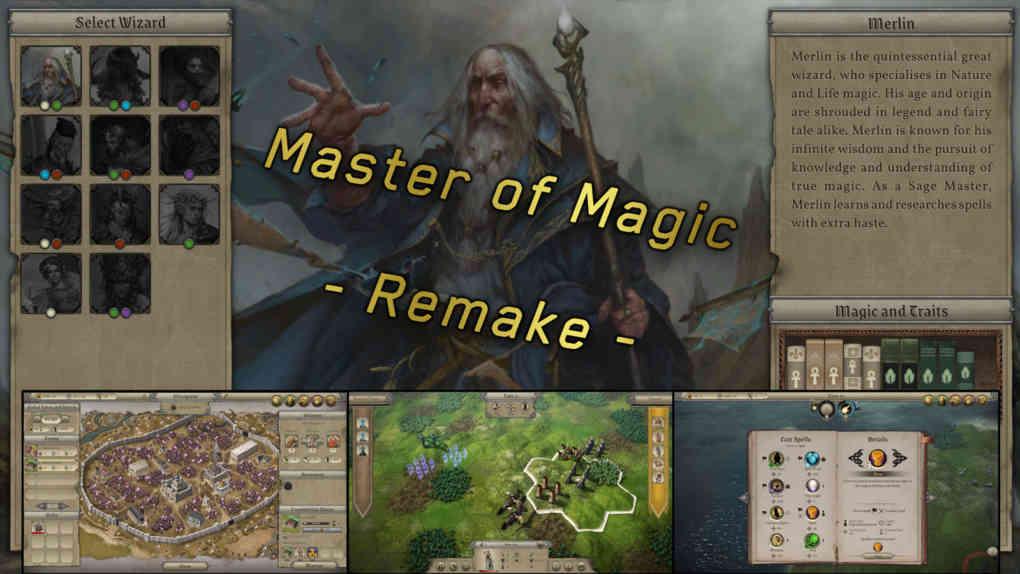 Master of Magic Remake 2022