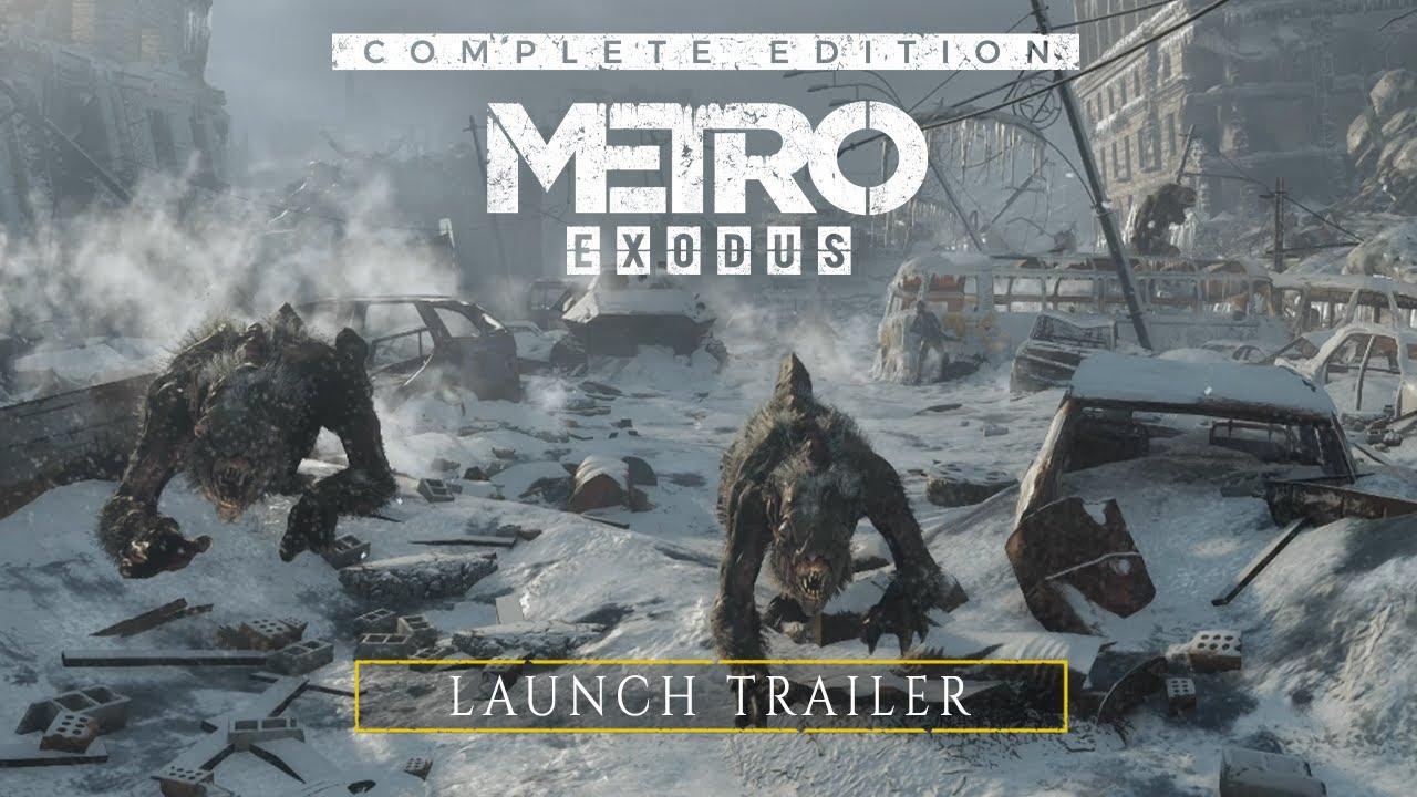 Metro Exodus Xbox Series XS PS5 Launch Trailer