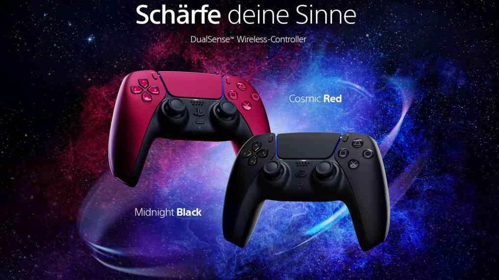PS5 dualsense neue farben
