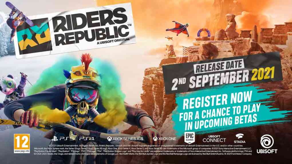 Riders Republic Release