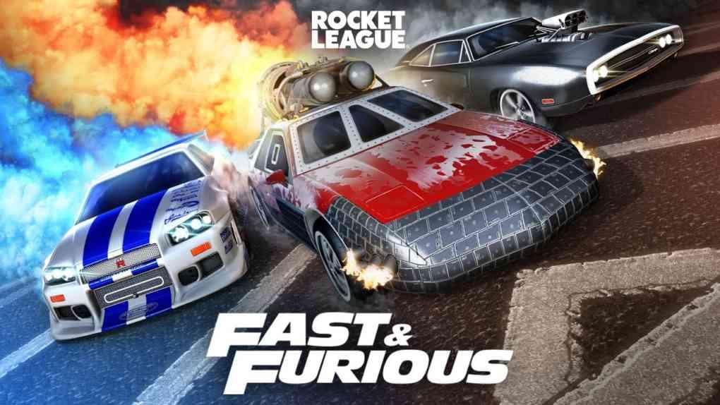 Rocket League® Fast Furious Bundle Trailer