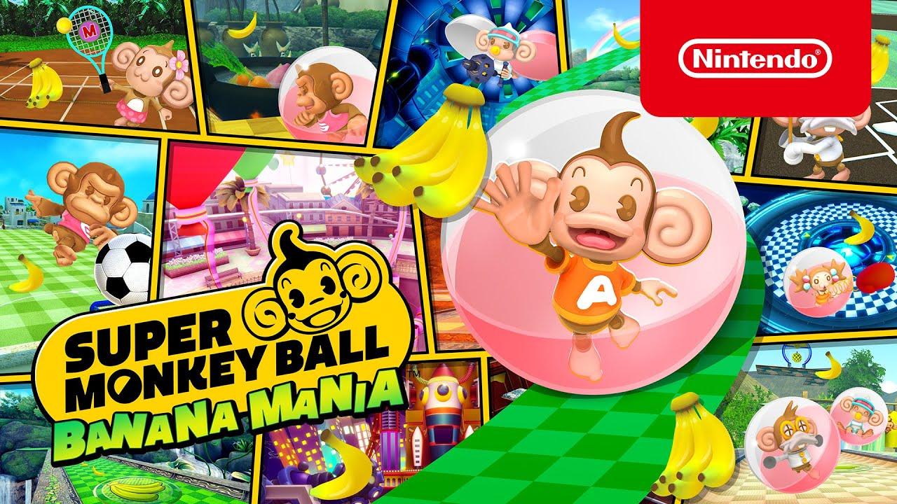 Super Monkey Ball Banana Mania – Ab 5. Oktober erhaeltlich Nintendo Switch 🍌