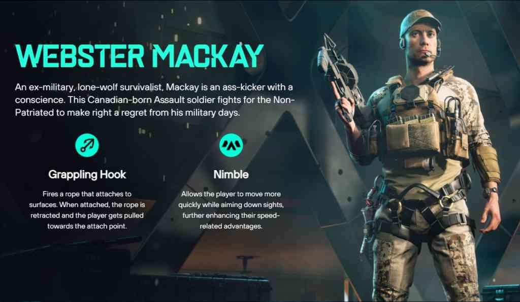 Webster Mackay