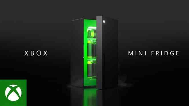 Xbox Mini Fridge World Premiere 1