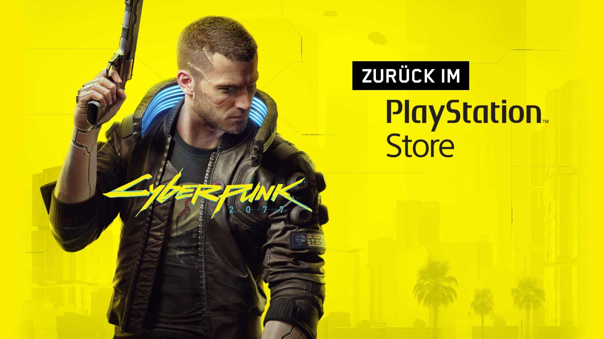 cyberpunk 2077 playstation re release