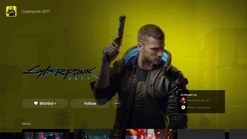 cyberpunk 2077 psn