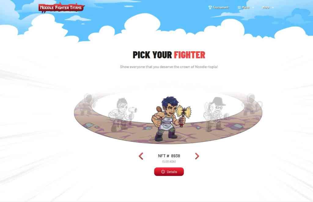 nft choose your fighter