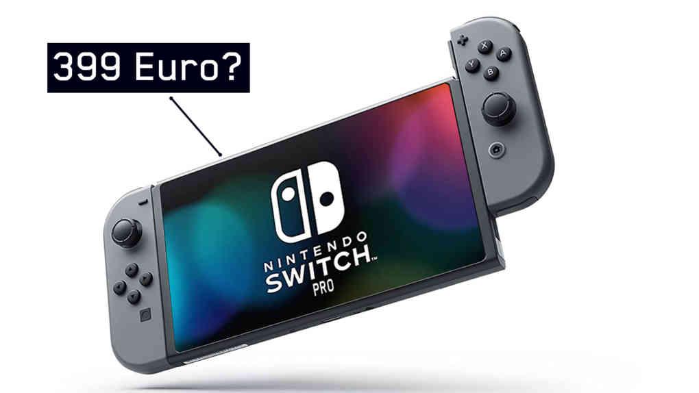 nintendo switch pro preis
