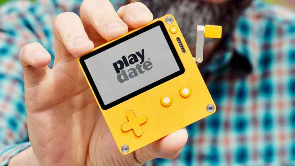 playdate gaming konsole