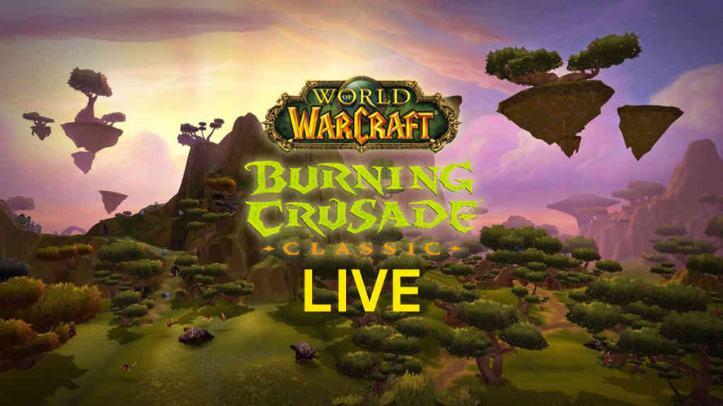 wow burning crusade classic live