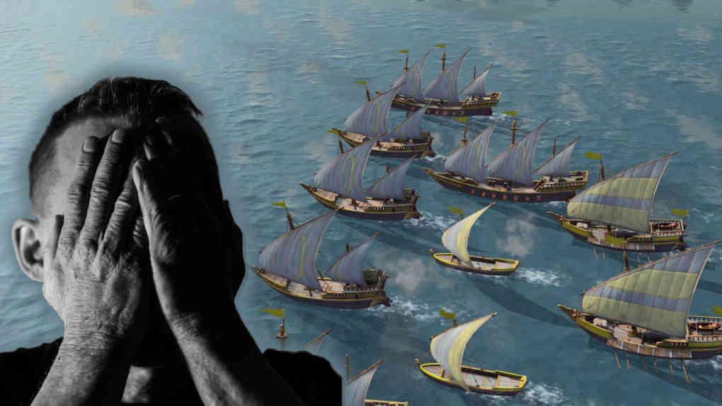 Age of Empires IV Traces of History Naval Warfare sad