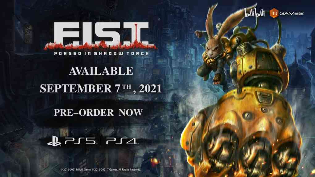 F.I.S.T.: Forged In Shadow Torch erscheint am 7. September.