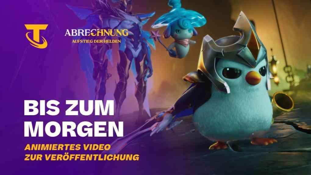 Ein neuer Morgen Launch Sequenz fuer Aufstieg der Helden – Teamfight Tactics