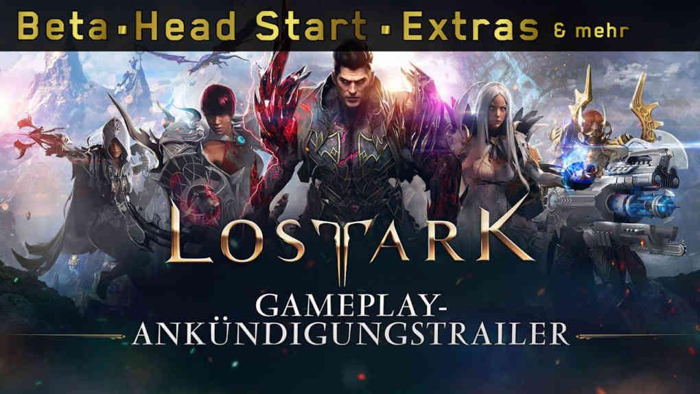 Lost Ark Gameplay Ankuendigungstrailer beta head start