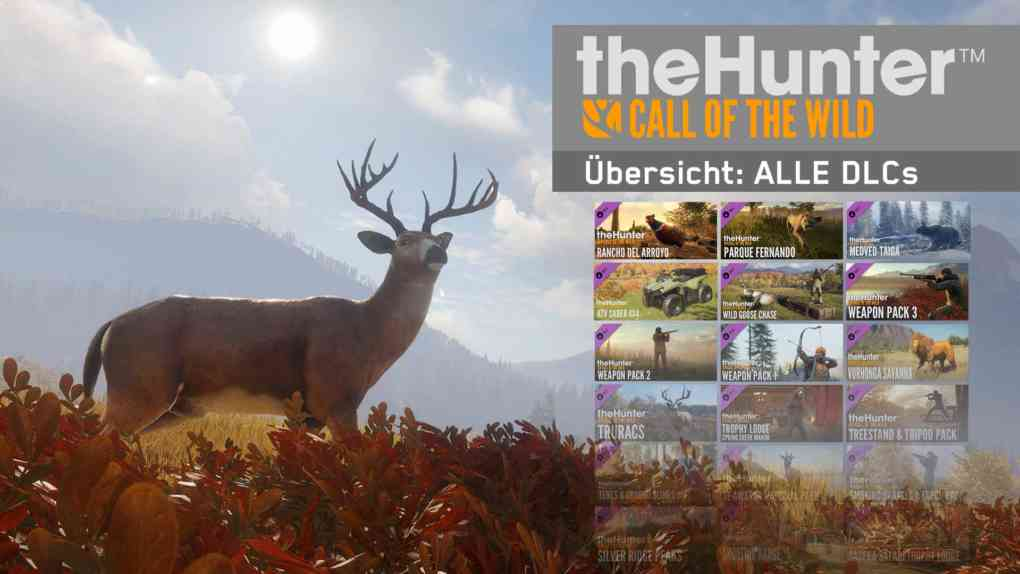 cotw the hunter call of the wild alle dlcs