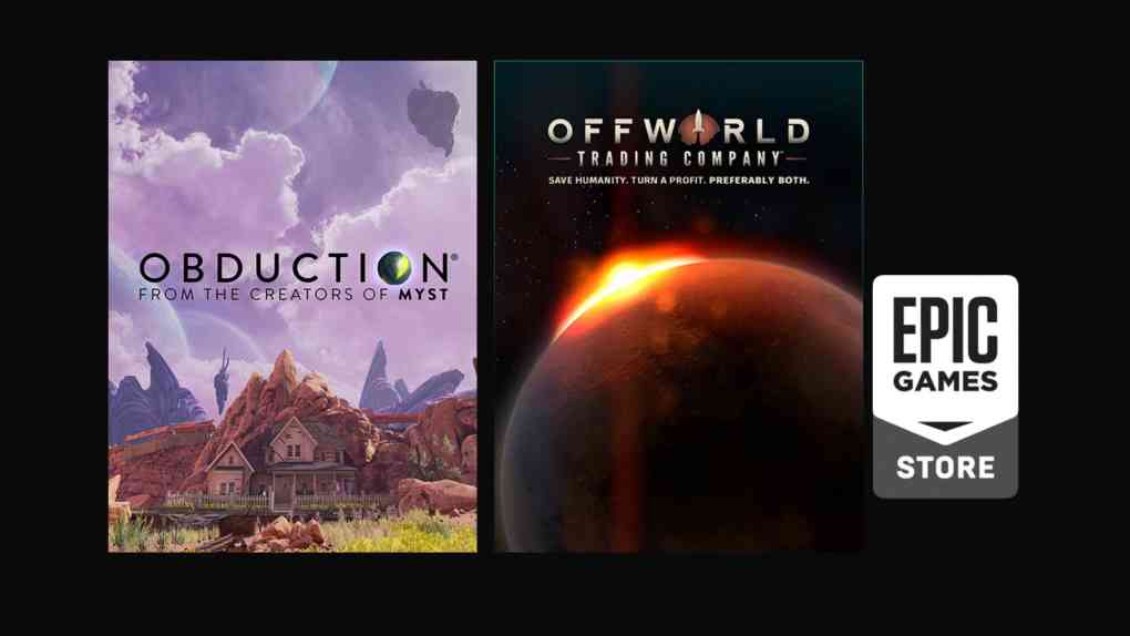 epic game free game obduction offworld