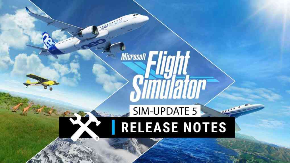 microsoft flight simulator sim update 5