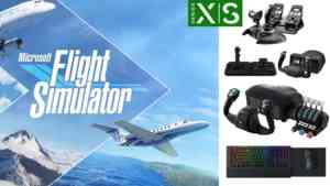 microsoft flight simulator xbox controller series xs