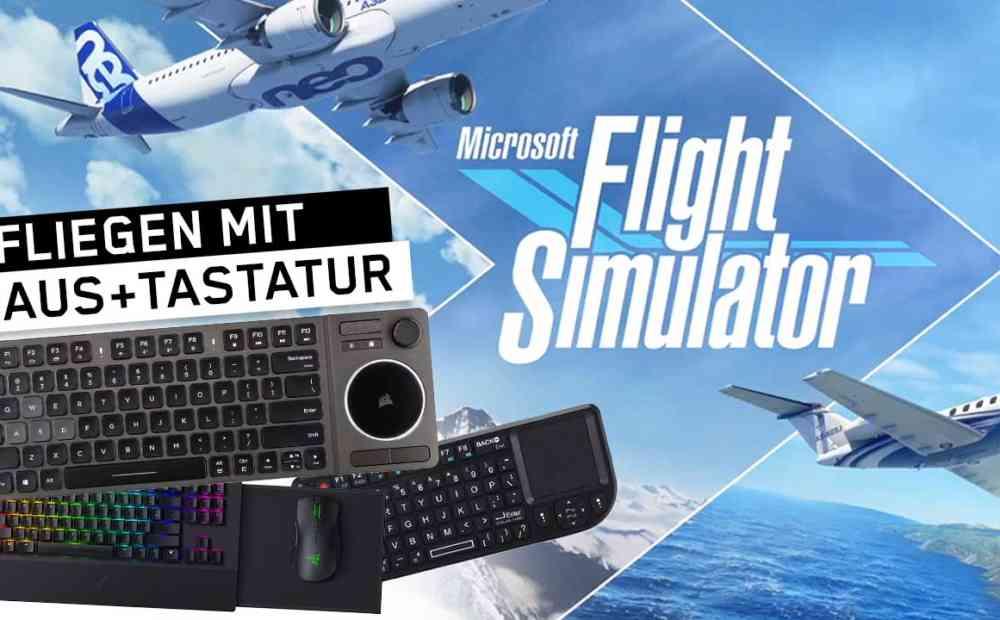 microsoft flight simulator xbox maustastatur
