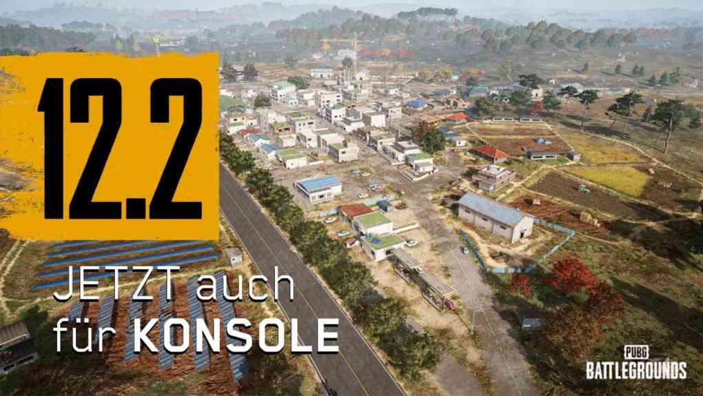 pubg update 12 2 konsole