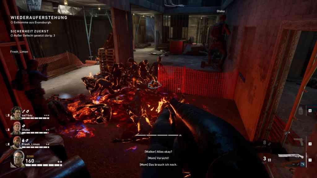 B4B Gameplay Molotov