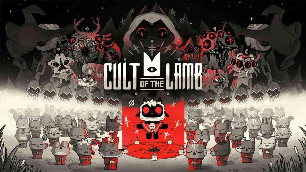 Cult of the Lamb Key Art