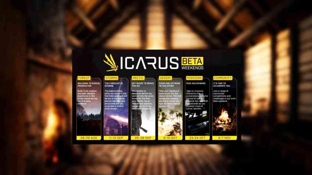 Icarus Beta Termine
