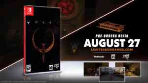 Limited Run Physical Quake2 Switch
