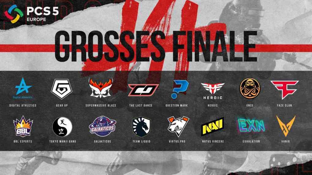 PUBG Esports PCS5 Finals