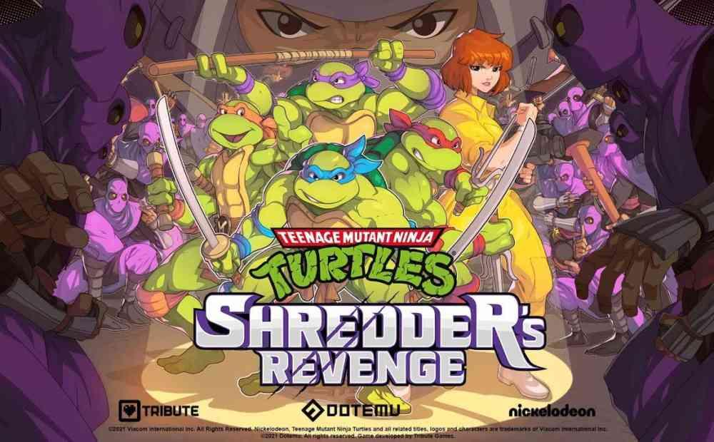 TMNT Shredders RevengeApril