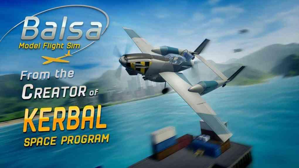balsa model flight sim